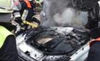 Пенсионер из Германии купил новый Mercedes-Benz S-class. А он взял и сгорел