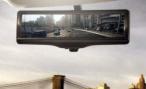 «Умное» зеркало заднего вида от Nissan: дорога и ничего лишнего