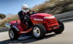 Honda Mean Mower установила рекорд скорости среди газонокосилок — 187,6 км/ч