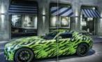 Прототип Mercedes-Benz AMG GT «застукали» на тестах в Нюрбургринге