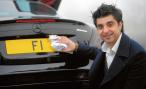 Автомобильный номер «F1» продали в Великобритании за 10 миллионов фунтов