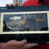 В Казани показали первое официальное изображение Lada Vesta
