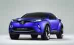 Первые фотографии концепта Toyota C-HR появились в Интернете