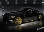 Ford привезет на SEMA «золотой» Mustang