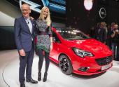 Новая Opel Corsa от Клаудии Шиффер