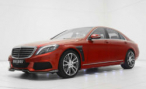 Mercedes-Benz S-class. «Красная машина» от Brabus