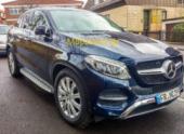 Кроссовер Mercedes-Benz GLE Coupe попался папарацци