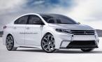 Дизайнеры представили как будет выглядеть Mitsubishi Lancer нового поколения