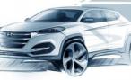 Hyundai показала предварительное изображение Tucson нового поколения