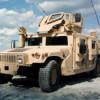 Порошенко лично встретил самолет ВВС США с внедорожниками Humvee