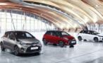 Toyota Yaris стал двухцветным