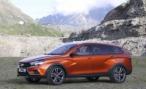 Lada Vesta Cross Concept. Демонстрация стиля