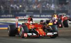 «Формула-1». Гран-при Сингапура 2015. «Феррари» уходит в ночь