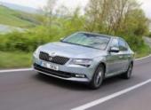 В России стартует прием заказов на новый Skoda Superb