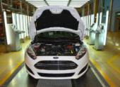 На заводе в Татарстане собрали первый автомобиль Ford с двигателем российского производства