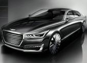 Опубликованы изображения нового Genesis G90