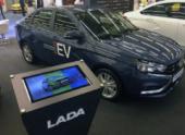 АВТОВАЗ представляет электрическую Lada Vesta EV
