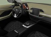 Lada показала интерьер концепта XCODE
