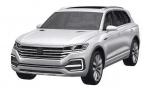 В Сети появились первые изображения нового Volkswagen Touareg
