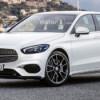 2018 Mercedes-Benz A-class. Первый рендер