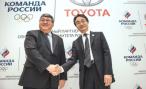 Toyota подружилась с Олимпийским комитетом России