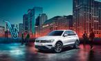 Volkswagen представил в России специальную версию VW Tiguan City