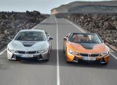 Цены на BMW i8 Roadster и BMW i8 Coupe в рублях