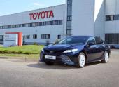 В России стартовал выпуск новой Toyota Camry