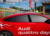 Audi quattro days. Приходите на «Ауди» покататься