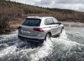 Volkswagen Tiguan Winter Edition. Подарок на зиму