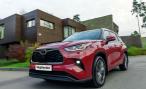 «Тойота» анонсирует появление в России Toyota Highlander нового поколения