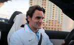 Роджер Федерер протестировал новый Mercedes-Benz SLS AMG (видео)