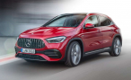 Mercedes-AMG GLA. Наше вам с бабочкой