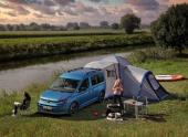 Volkswagen Caddy California. С кухней и палаткой