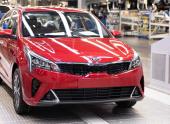 В Петербурге стартовало производство обновленного седана Kia Rio