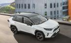 «Тойота» представляет кроссовер Toyota RAV4 с двухцветным кузовом