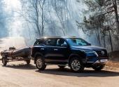 В России стартовали продажи обновленного Toyota Fortuner
