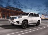 Toyota Land Cruiser Prado получил в России флагманскую версию Black Onyx