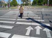 В России запретят нерегулируемые пешеходные переходы на дорогах с шестью полосами и более