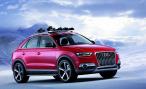 Audi представила в Детройте концептуальный Q3 Vail Concept для зимнего отдыха