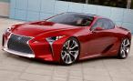 Lexus LF-LC concept. Мало данных, много фото