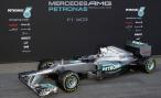 Mercedes представил болид F1 W03 для нового сезона в чемпионате «Формула-1»