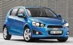 Chevrolet называет российские цены на новый Aveo хэтчбек