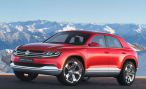 Volkswagen Cross Coupe TDI Concept. Шаг вперед