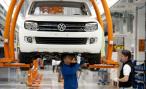 Медведев заложил первый камень в завод по производству двигателей Volkswagen