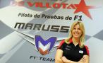 В Англии разбилась тест-пилот Marussia Мария де Виллота