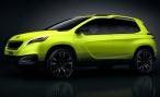 Peugeot представит в Париже концептуальный 2008 Concept
