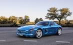 Mercedes-Benz SLS AMG Electric Drive. Без шума, без пыли