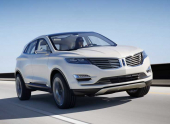 Lincoln представит в Детройте прототип компактного кроссовера MKC Concept