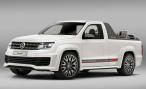 В Интернете появились изображения концепта Volkswagen Amarok R-Style